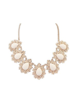 Occident All-match Floret Water Drop Temperament Hot försäljning Halsband
